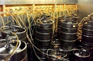 Открытие магазина раливного пива под известным брендом