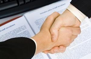 договоренность бизнесменов