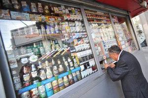 продажа алкоголя и сигарет